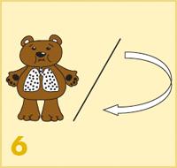 AeroChamber Plus Flow-Vu z maską dla dzieci instrukcja użytkowania - 6. krok