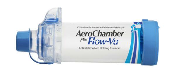 Produkt - AeroChamber Plus Flow-Vu z ustnikiem dla dorosłych - (Niebieski)