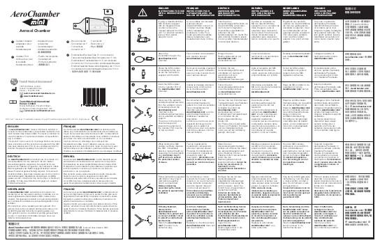 AeroChamber mini Instrukcja obsługi